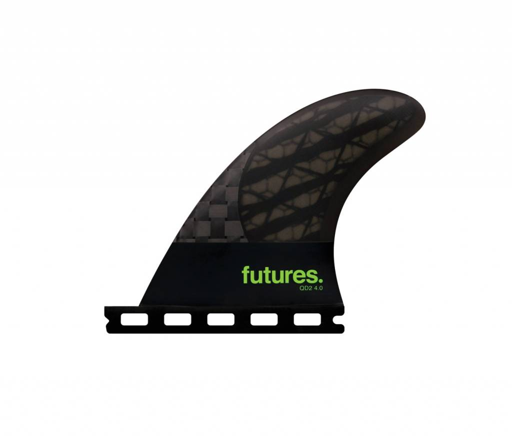 FUTURES Futures QD2 4.0 Blackstix Quad Rear Smoke/Light Green