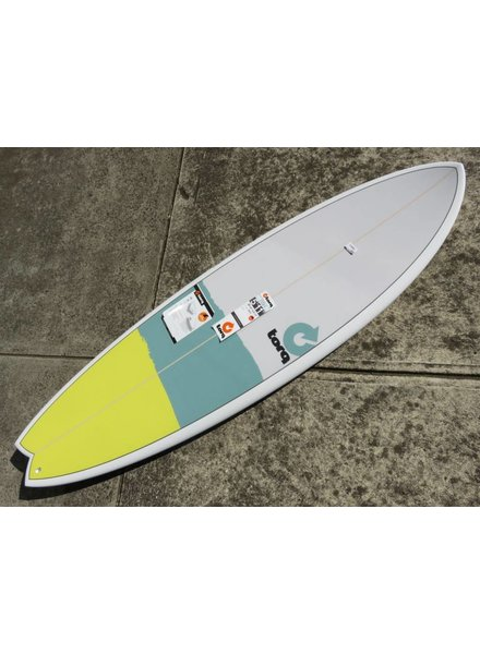 "TORQ Torq Mod Fish 5'11"" x 20 3/8"" x 2 1/2"" 33.2L Futures  (*Cover & Legrope Package available)"