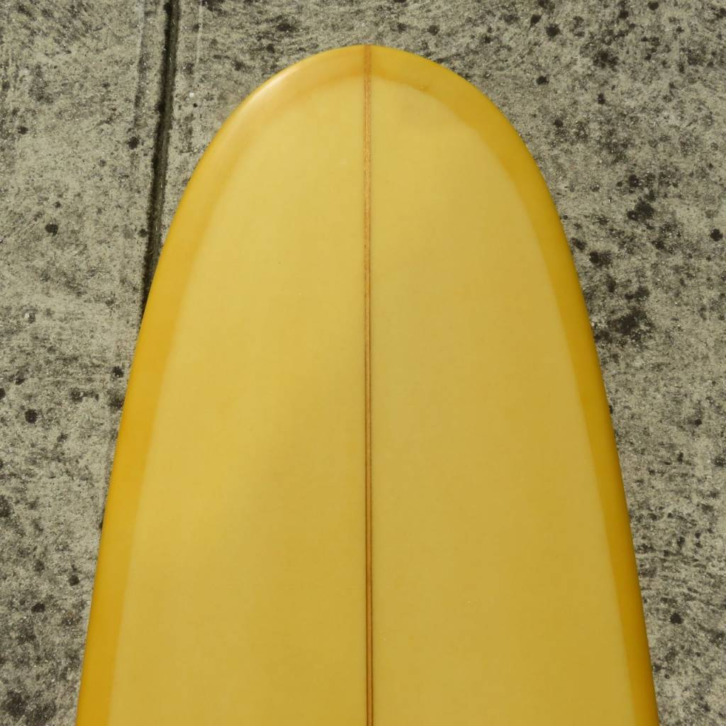 "ZAK SURFBOARDS ZAK LONGBOARD Yellow/Gold (#10996) 9'0"" x 22 3/4"" x 2 7/8"""
