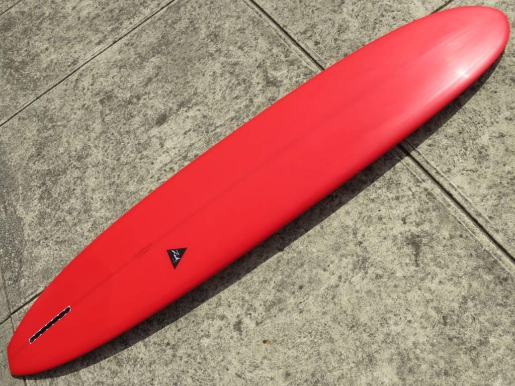 """ZAK SURFBOARDS ZAK LONGBOARD Red (#10995) 9'1"""" x 22 3/4"""" x 3 3/16"""""""