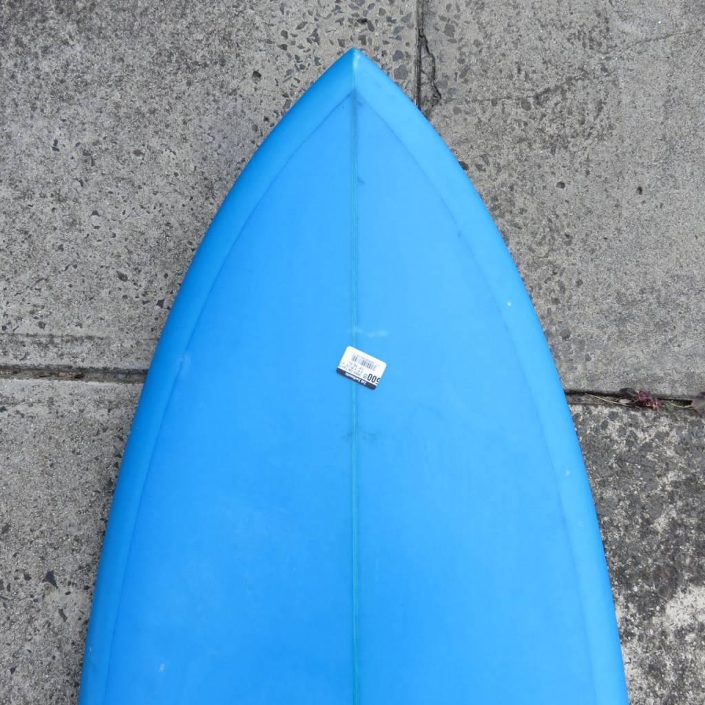 """ZAK SURFBOARDS (#862) Zak Twin Fish 5'8"""" x 20 1/2"""" x 2 1/2"""" 34L Futures"""