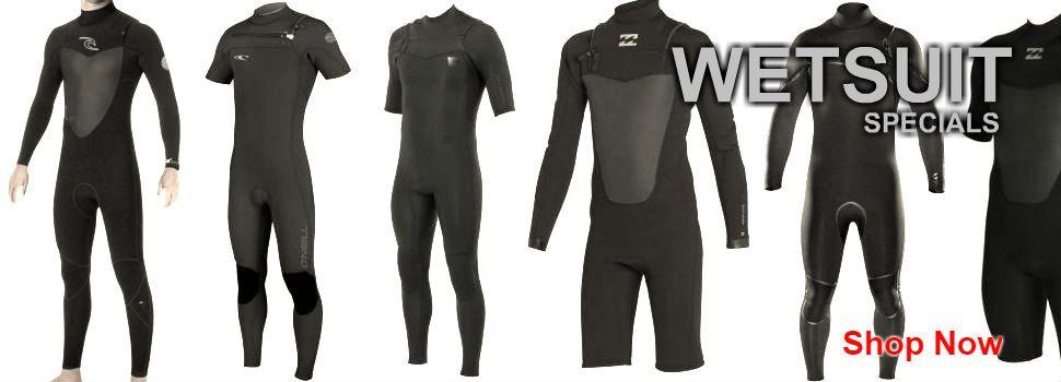 Wetsuit Specials