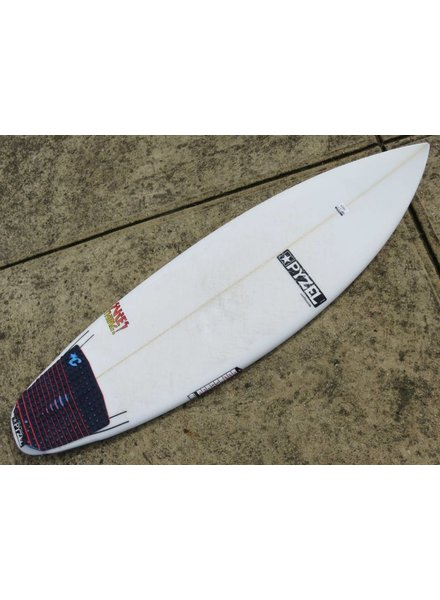 PYZEL (#866 ) Pyzel Sure Thing 5'7 x 19 3/8 x 2 3/8 x 28L Futures