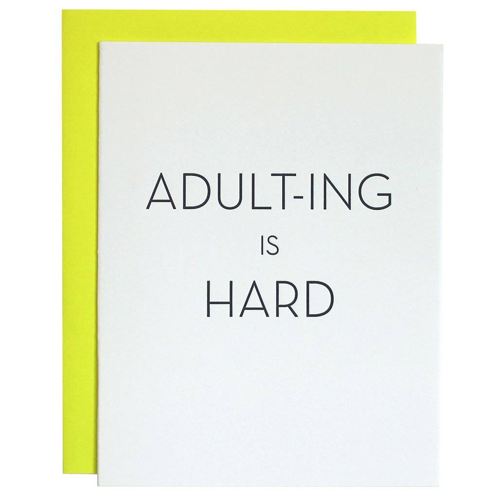 Chez gagn greeting cards adult ing is hard cabin108 chez gagn greeting cards adult ing is hard m4hsunfo