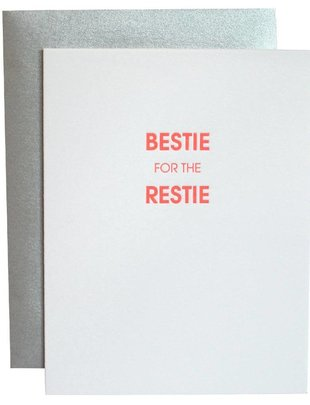 Chez Gagné Chez Gagné Greeting Cards Bestie For The Restie