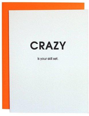 Chez Gagné Chez Gagné Greeting Cards Crazy Skill Set