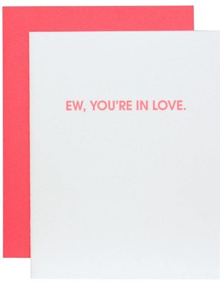 Chez Gagné Chez Gagné Greeting Cards Ew, You're In Love