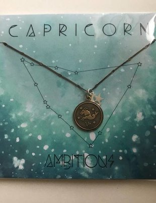 Amano Capricorn Necklace