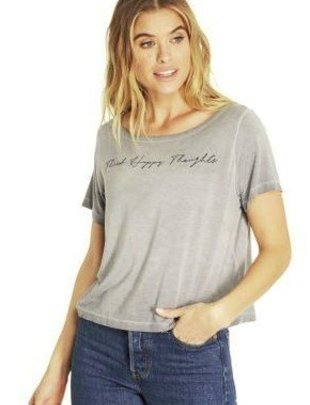 Good hYOUman Good HYOUman Cropped Tee Payton Think Happy Thoughts