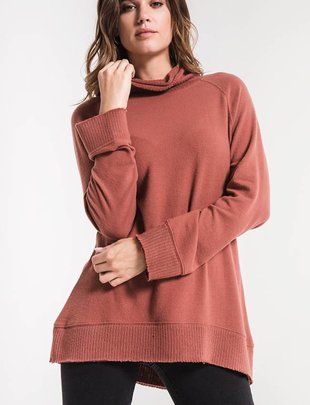 Z Supply The Mock Neck Pullover