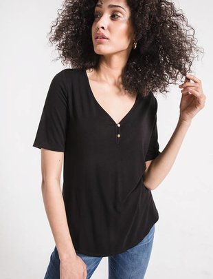 Z Supply The Fae Henley Tee