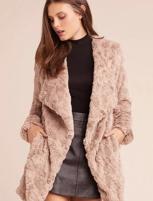 BB DAKOTA BB Dakota Coat Soft Textured Wubby Jacket