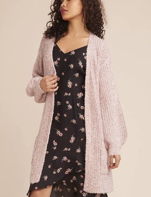 BB DAKOTA BB Dakota Cardi Longline Open W/ Pockets