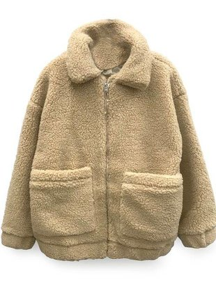 RD INTERNATIONAL RD Int'l Coat Teddy Bear Jacket