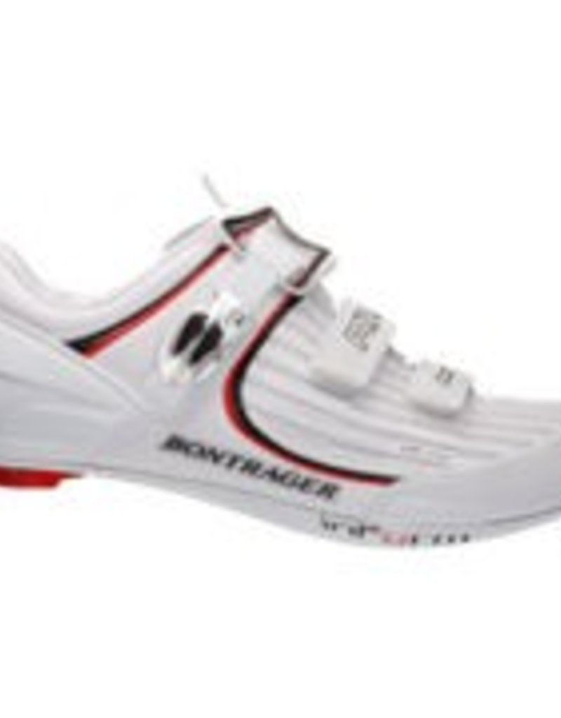 BONTRAGER SHOE BONTRAGER RXL ROAD MENS 43.5 WHITE