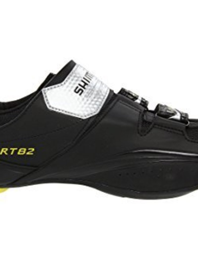 Shimano BICYCLE SHOES SH-RT82 SIZE 47.0 BLACK IND.PACK