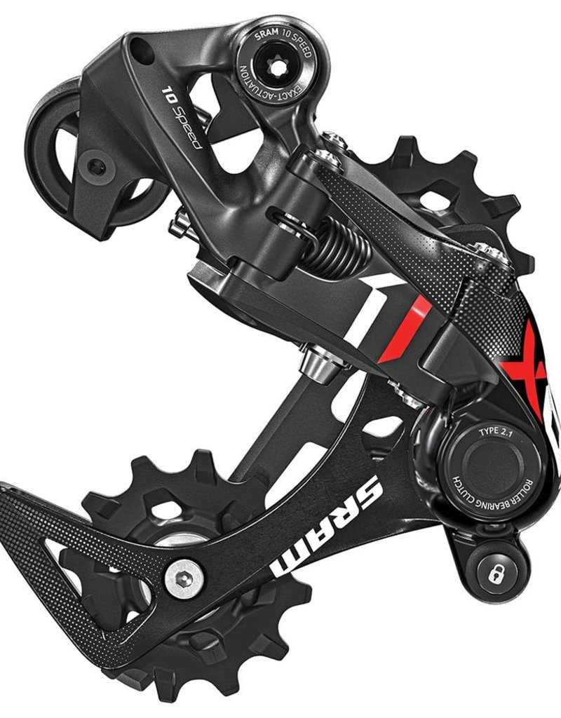 SRAM X01 Eagle 12-Speed Type 3 Rear Derailleur, Black