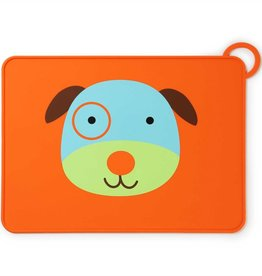 Skip Hop ZOO FOLD & GO SILICONE PLACEMAT- DOG