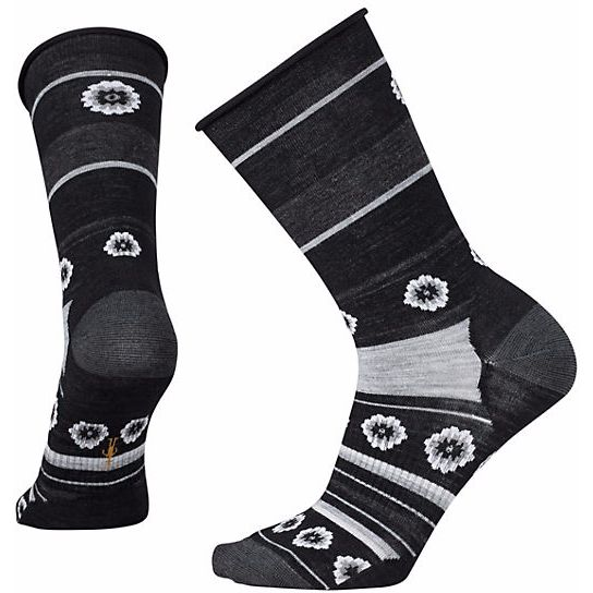 SmartWool Dazed Dandelion Crew Socks Womens