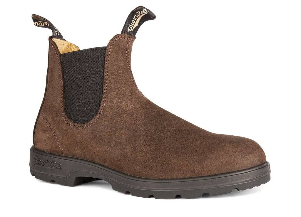 Blundstone 1606 Leather Lined Brown Nubuck