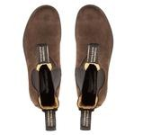 1606 Leather Lined Brown Nubuck