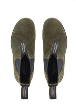 Blundstone 1615 The Original In Dark Olive Suede