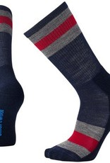 SmartWool Hike Light Crew Striped Socks Mens