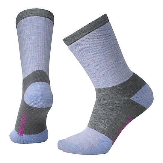 SmartWool Hike Medium Crew Striped Socks Womens