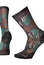 SmartWool Wave Geo Print Crew Socks Mens