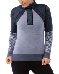 SmartWool Ski Ninja Pullover Sweater Womens