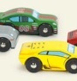 Le Toy Van Montecarlo Sports Cars Set