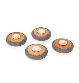 Tegu Tegu Magnetic Wheels (box of 4)