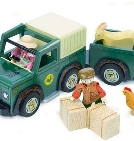 Le Toy Van Farm 4 x 4 Truck and Trailer<br />