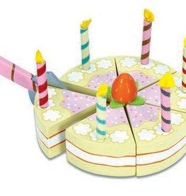 Le Toy Van Vanilla Birthday Cake