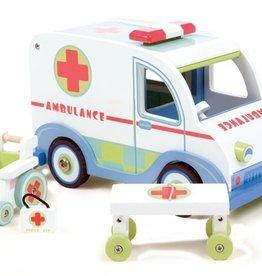 Le Toy Van Ambulance de bois