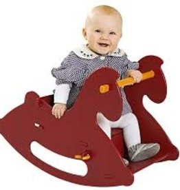 Moover Wooden Rocking Horse Red