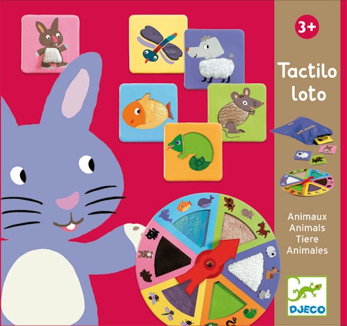 Djeco Tactilo Loto Tactile Discovery Game