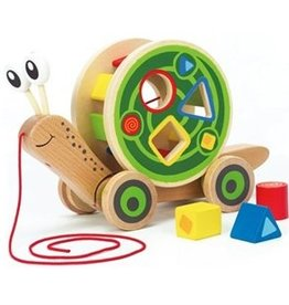 Hape Walking Snail and Sorting Toy
