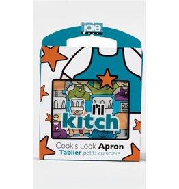 l&#039;il kitch Tablier pour cuisinier (bleu ou rose)<br />L&#039;il Kitch