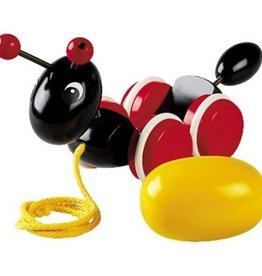 Brio Ant with rolling egg Pull Toy<br />Ant with rolling egg