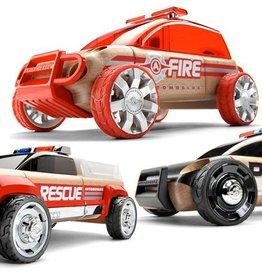 Automoblox 3-pack mini Emergency Vehicules Automoblox