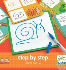 Djeco Step by step Drawing Kit