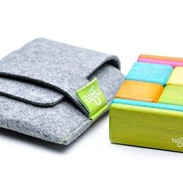 Tegu Tegu - Pochette de 8 blocs de bois magnétiques