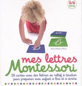Livre Montessori letters box (textured)