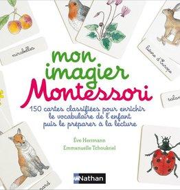 Livre Mon imagier Montessori<br />Éd. Nathan