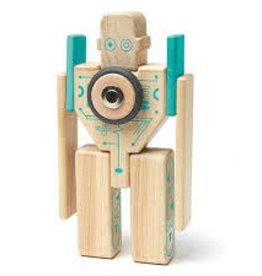 Tegu Tegu- Blocs de bois magnétiques