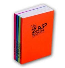 Clairefontaine 1/2 Zap Book Recycled Paper