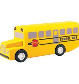 Plantoys Mini School bus