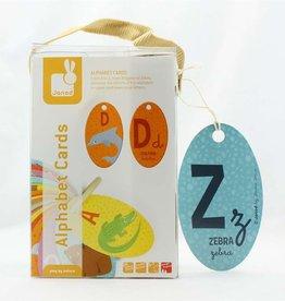 Janod Alphabet Cards English Janod