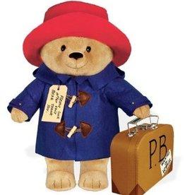 Bagnoles & bobinette Paddington Bear with his suitcase (16 in.)